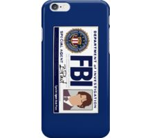 Sam's FBI Badge iPhone Case/Skin