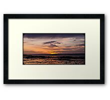 Sunrise River Forth Framed Print