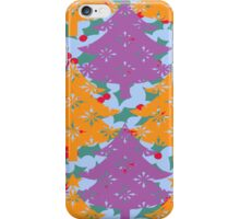 Christmas Holly Tree iPhone Case/Skin