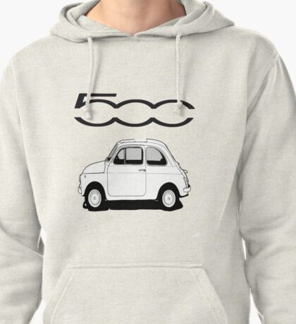 Fiat 500  Pullover Hoodie