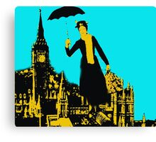 Mary in the city Canvas Print