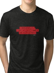 Devil May Cry 3 Dante Quote T Shirt Tri-blend T-Shirt