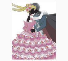 Sailor Moon and Tuxedo Mask Kids Tee