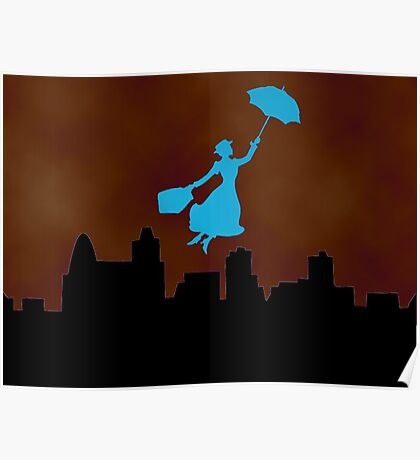 Firey Mary Poppins  Poster