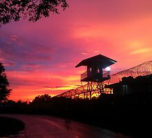 Prison Sunset by mubadalashan