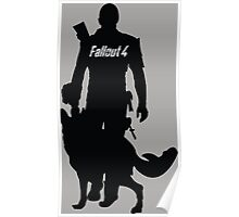 Fallout 4 T-shirt Army Poster