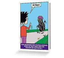 Alex Prune Greeting Card