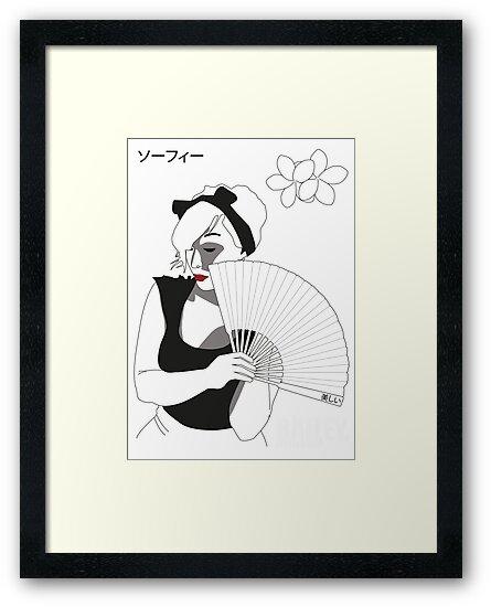 Japanese Female by Levantar