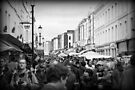 Saturday in Portobello Road by Ed Sweetman