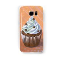 Chocolate Stars Cupcake Samsung Galaxy Case/Skin