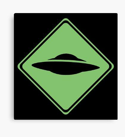 X-Files - UFO Canvas Print