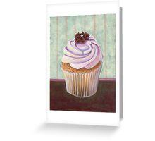 Champagne Chic Cupcake Greeting Card