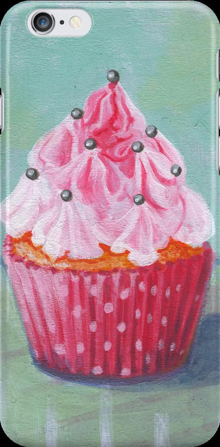 Pink Mountain Cupcake by sivieriart