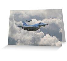 RAF Typhoons Greeting Card