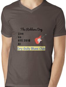 The Robbers Dog Live at DGBC Mens V-Neck T-Shirt