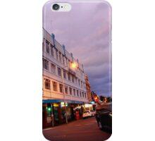 evening, brisbane street (launceston) iPhone Case/Skin