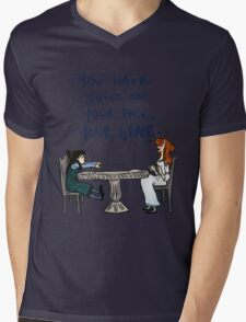 You Have Juice on Your Face Mens V-Neck T-Shirt