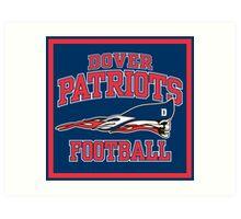 Dover Patriots Football Art Print