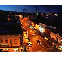 evening, elizabeth street (hobart) Photographic Print