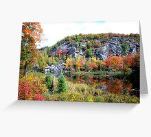 Fall scene Northern Ontario Greeting Card