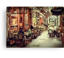 Memory Lane Canvas Print