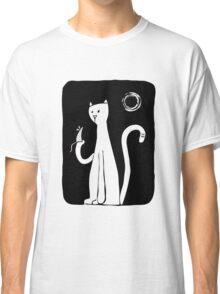 Cat & Mouse - Black Classic T-Shirt