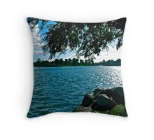 Calm Afternoon Throw Pillow