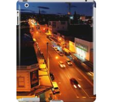 evening, elizabeth street (hobart) iPad Case/Skin