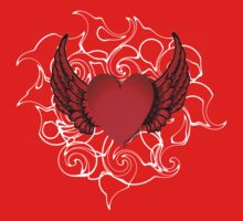 Wings of Love One Piece - Long Sleeve