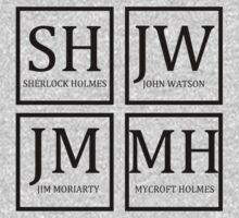 Sherlock Characters by woodlandfaeries