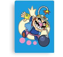 WarioWare - Wario! Canvas Print
