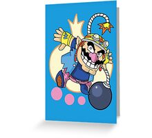 WarioWare - Wario! Greeting Card