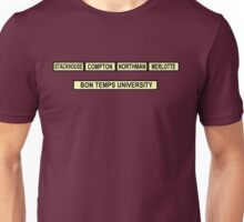 University Challenge: True Blood Edition Unisex T-Shirt