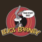 BUGS BARNEY: TRUE STORY DOC! (white outlines) by lemontee