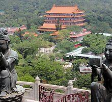 Po Lin Monastery by Camilla