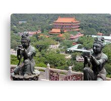 Po Lin Monastery Canvas Print