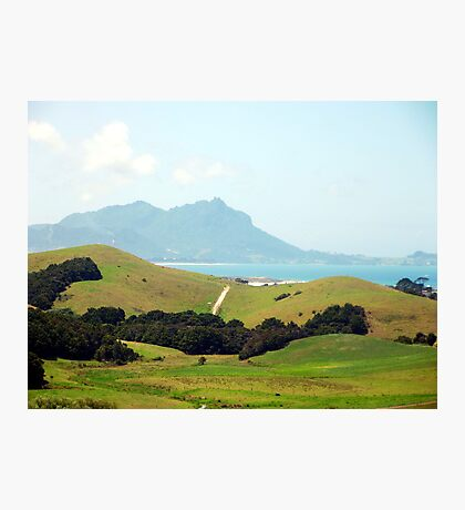 View of Whangarei Heads Photographic Print