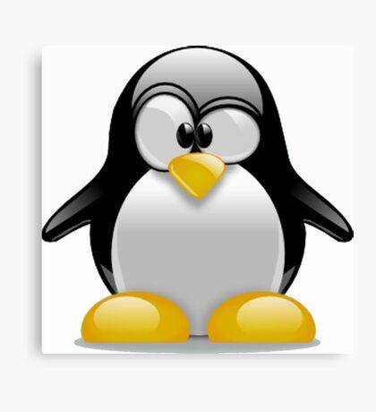 Tux The Penguin Canvas Print
