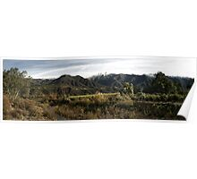 Ojai Valley With Snow Poster