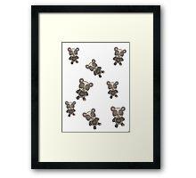 panda panda panda Framed Print