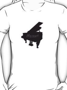 Mozart piano play tee  T-Shirt