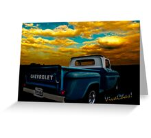56 Chevy Truck Greeting Card