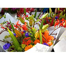 beautiful bouquets Photographic Print