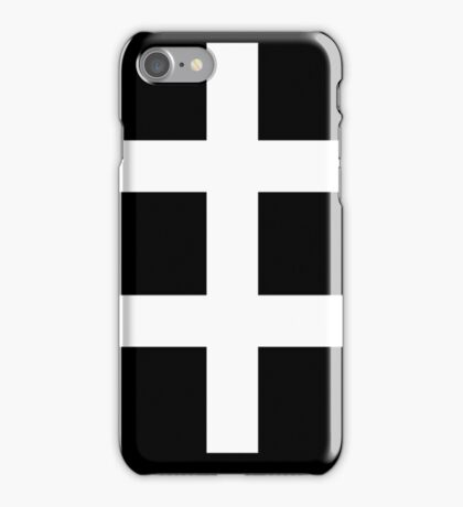 celebritarian cross. iPhone Case/Skin