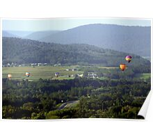 Balloons From Aloft  Poster