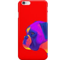Boxer (Red) iPhone Case/Skin