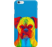 Boxer (Blue) iPhone Case/Skin