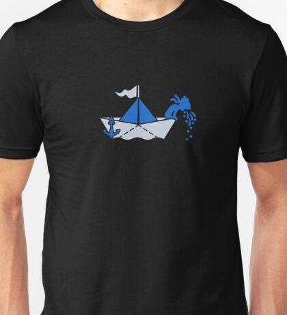 Seasick - Sailor on a Paperboat VRS2 T-Shirt