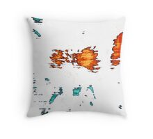 Fragments of Unbecoming Throw Pillow