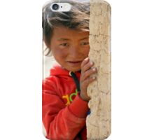Young Ladakh Girl iPhone Case/Skin